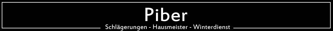 Piber Wernberg – Forstunternehmen-Hausmeister-Winterdienst